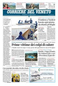 Corriere del Veneto Padova e Rovigo – 28 giugno 2019