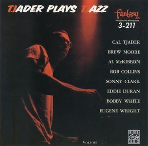 Cal Tjader - Tjader Plays Tjazz (1954-1955) {Fantasy OJC 988 rel 1988}