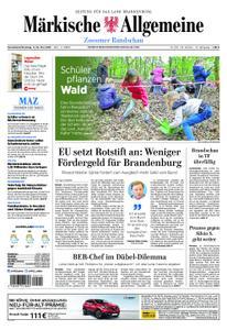Märkische Allgemeine Zossener Rundschau - 11. Mai 2019