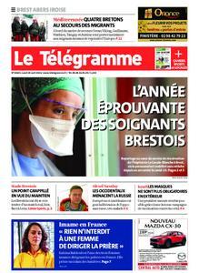 Le Télégramme Brest Abers Iroise – 19 avril 2021