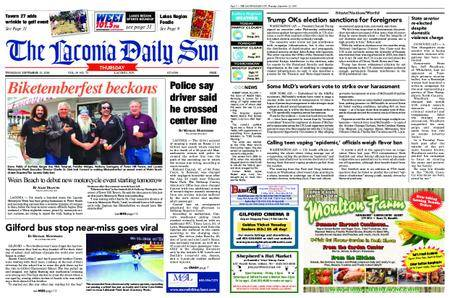 The Laconia Daily Sun – September 13, 2018