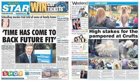 Shropshire Star Shrewsbury Edition – March 10, 2018