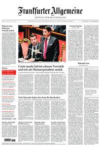 Frankfurter Allgemeine Zeitung F.A.Z. - 21. August 2019