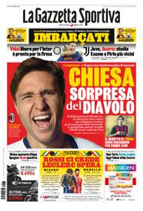 La Gazzetta dello Sport – 13 settembre 2020