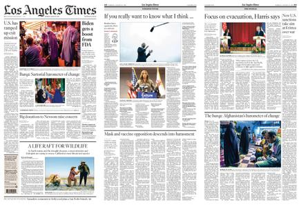 Los Angeles Times – August 24, 2021