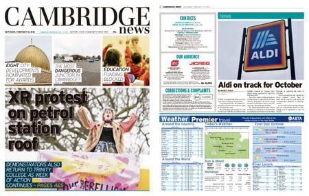 Cambridge News – February 22, 2020