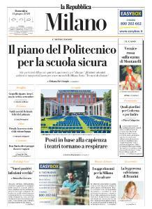 la Repubblica Milano - 14 Giugno 2020