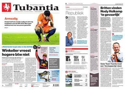 Tubantia - Enschede – 09 oktober 2017