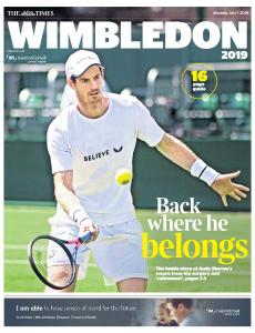 The Times - The Game - 1 July 2019