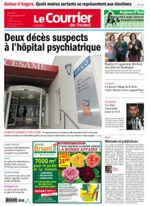 Le Courrier de l'Ouest Angers – 09 novembre 2019
