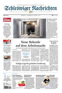 Schleswiger Nachrichten - 01. Oktober 2019