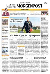 Solinger Morgenpost – 02. April 2019