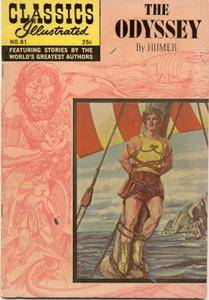 Classics Illustrated 081 The Odyssey Homer