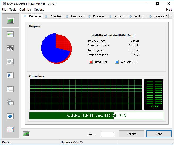 RAM Saver Professional 17.2 Multilingual