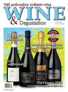 Wine & Degustation - červenec 2018