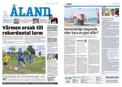 Ålandstidningen – 14 augusti 2018