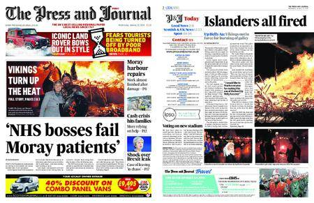 The Press and Journal Moray – January 31, 2018