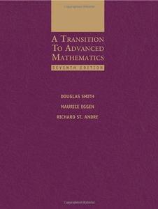A Transition to Advanced Mathematics, 7th Edition