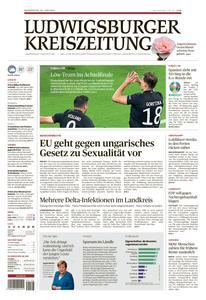 Ludwigsburger Kreiszeitung LKZ - 24 Juni 2021