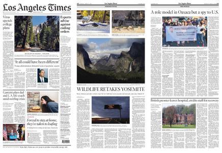 Los Angeles Times – April 13, 2020