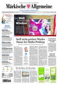 Märkische Allgemeine Luckenwalder Rundschau - 19. Mai 2018