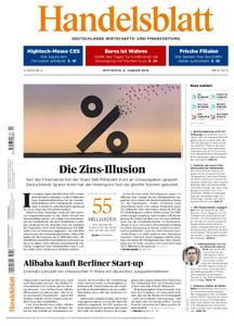 Handelsblatt - 09. Januar 2019