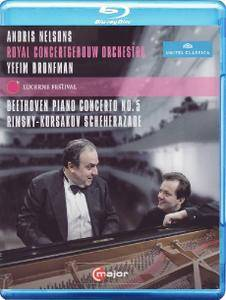 Andris Nelsons, Royal Concertgebouw Orchestra - Beethoven: Piano Concerto No.5, Rimsky-Korsakov: Scheherazade (2015) [Blu-Ray]