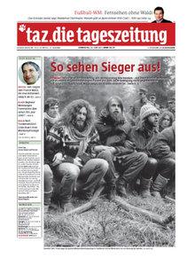 Tageszeitung TAZ vom 30 Juni 2011