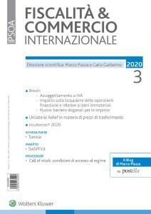 Fiscalità & Commercio Internazionale - Marzo 2020