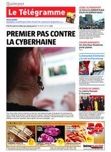 Le Télégramme Quimper – 16 mai 2019