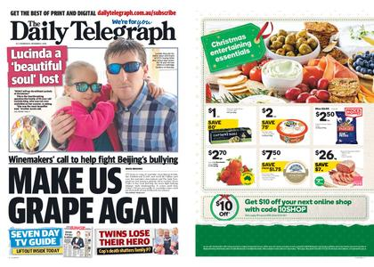 The Daily Telegraph (Sydney) – December 09, 2020