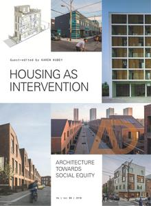 Housing as Intervention: Architecture towards social equity (Architectural Design)
