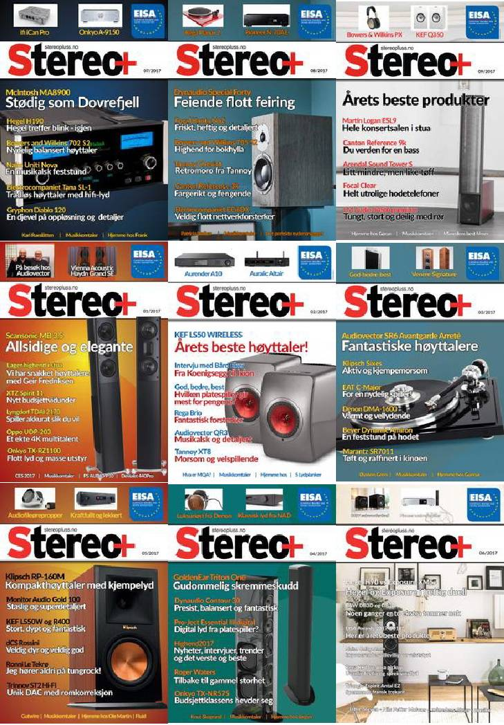 Stereo+ Full Year 2017 Collection