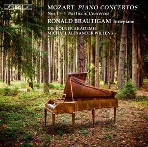 """Michael Alexander Willens - Mozart: Piano Concertos Nos. 1-4 """"Pasticcio Concertos"""" (2016)"""