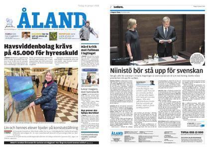 Ålandstidningen – 16 januari 2018