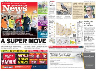 Shepparton News – May 17, 2019