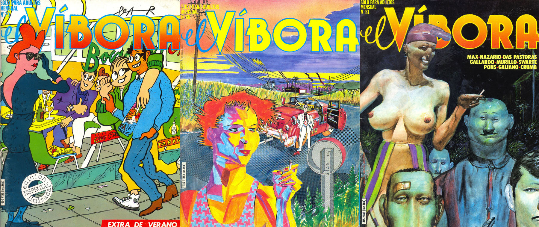 El Vibora #79-81
