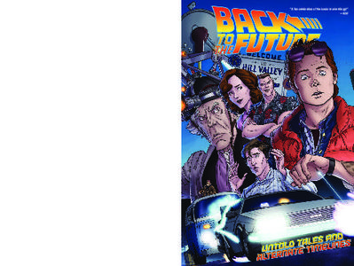IDW Publishing-Back To The Future Untold Tales And Alternate Timelines 2016 Retail Comic eBook