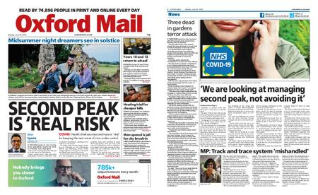 Oxford Mail – June 22, 2020