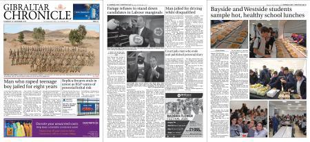 Gibraltar Chronicle – 14 November 2019