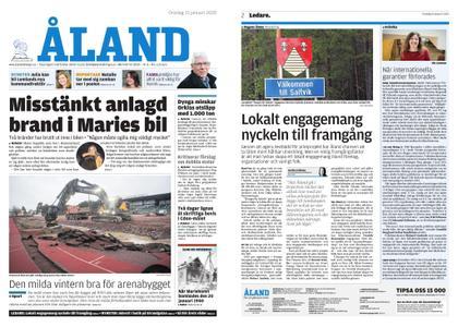 Ålandstidningen – 15 januari 2020