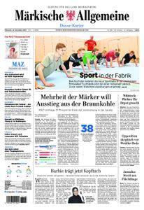 Märkische Allgemeine Dosse Kurier - 15. November 2017