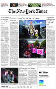 International New York Times - 22 May 2018