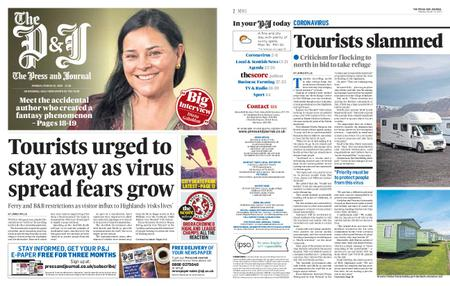The Press and Journal Moray – March 23, 2020