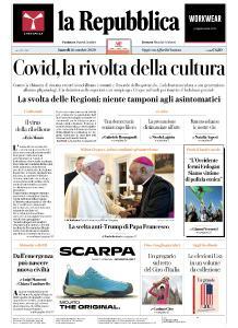 la Repubblica - 26 Ottobre 2020