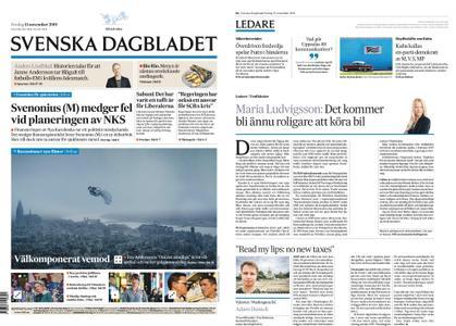 Svenska Dagbladet – 15 november 2019