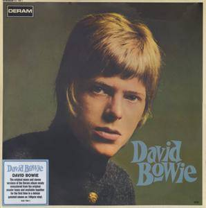David Bowie ‎- David Bowie (1967) EU 180g Pressing - 2 LP/FLAC In 24bit/96kHz