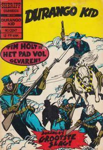 Sheriff Classics - 196 - Durango Kid - Durangos Grootste Slag