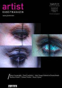 Artist Kunstmagazin – November 2019