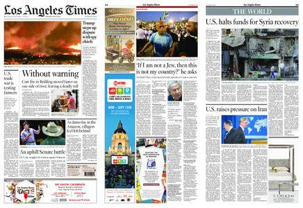 Los Angeles Times – August 18, 2018